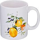 """Кружка """"итальянские лимоны"""" 350 мл. (кор=60шт.)"""