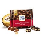 Шоколад темный с цельным лесным орехом Ritter Sport, 100 гр