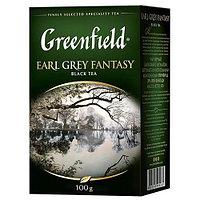 Черный чай Greenfield Earl Grey Fantasy, 100 гр