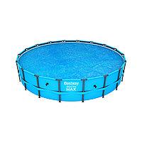 Тент солнечный для бассейнов диаметром 549 см, BESTWAY, 58173, PE, Синий, Сумка