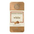Шоколад белый с грецким орехом Golden Dessert, 95 гр