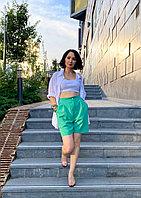 Женские шорты летние с защипами