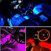 RGB cветодиодная подсветка салона