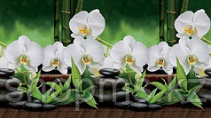 """Фартук КронаПласт """"Белая Орхидея"""" (443) 3*0,6м"""
