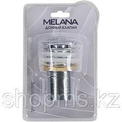 Донный клапан Melana MLN-330302CH в блистере без перелива хром