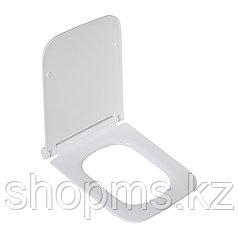 Сиденье для унитаза дюропласт с микролифтом, белое MELANA HY-2112N к T1169, 2310, 2006, 2122