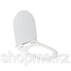 Сиденье для унитаза дюропласт с микролифтом, белое MELANA HY-2111D к T2196