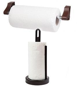 Держатель для бумажных полотенец Solo + рулон полотенец в подарок! (Комбинированный)