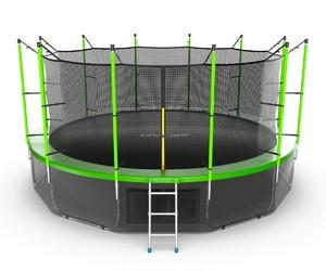 Батут EVO JUMP Internal 16ft (Green) + Lower net - фото 1