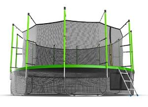 Батут EVO JUMP Internal 16ft (Green) + Lower net - фото 2