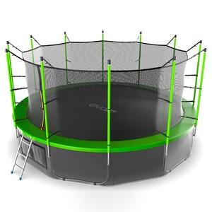 Батут EVO JUMP Internal 16ft (Green) + Lower net - фото 3