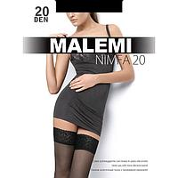 Чулки MALEMI Ninfa 20 цвет чёрный (nero), р-р 3