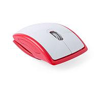 Мышь беспроводная складная LENBAL, Красный, -, 345948 08