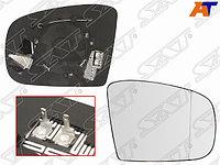Полотно зеркала MERCEDES GL X164 06-08/GLK X204 08-10/M W163 01-05 RH асферическое с обогревом