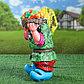 """Садовая фигура """"Гном с овощами"""", разноцветный, 37 см, микс, фото 3"""