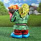 """Садовая фигура """"Гном с овощами"""", разноцветный, 37 см, микс, фото 4"""