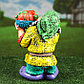 """Садовая фигура """"Гном с овощами"""", разноцветный, 37 см, микс, фото 7"""