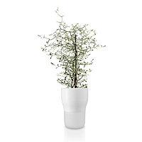 Горшок для растений с функцией самополива D13 см белый