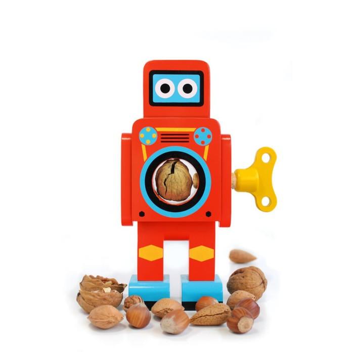 Орехокол мини Robot, красный