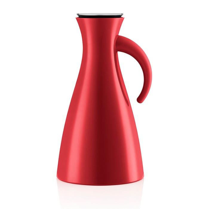 Высокий Термокувшин Vacuum, 1 л, красный