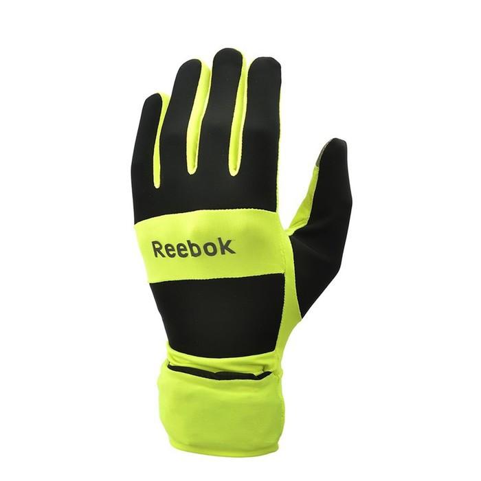 Всепогодные перчатки для бега Reebok размер S  RRGL-10132YL