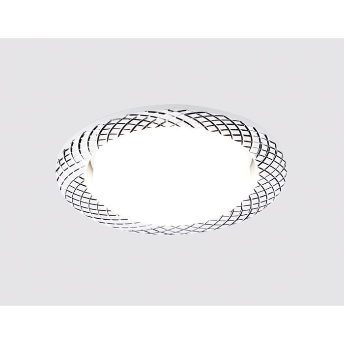 Светильник встраиваемый, GX53, цвет белый, d=85 мм