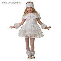 Карнавальный костюм «Снежинка Снеговичка», р. 34, рост 134 см