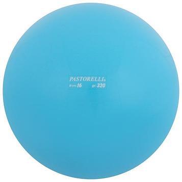 Мяч гимнастический PASTORELLI, 16 см, цвет голубой