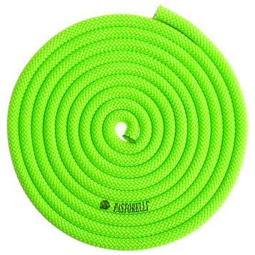 Скакалкa PASTORELLI New Orleans FIG, цвет зелёный/лайм