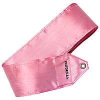 Лента гимнастическая PASTORELLI одноцветная, 4 м, цвет розовый