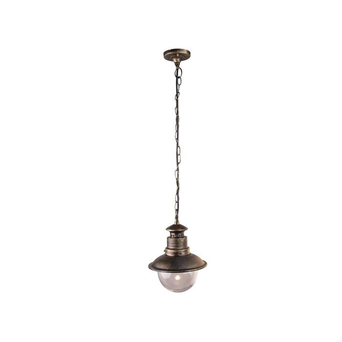 Светильник уличный AMSTERDAM, 60Вт, E27, IP44, цвет бронза