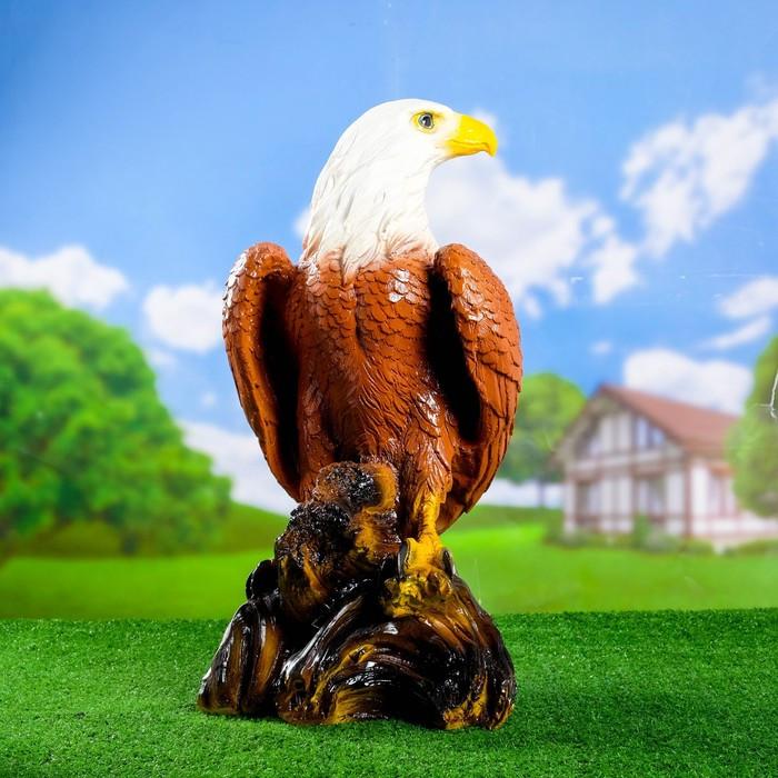 """Садовая фигура """"Орел"""" коричневый  65см"""