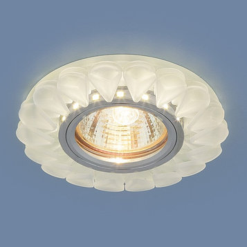 Светильник 2210 MR16, IP20, 35 Вт, G5.3,d=60 мм, цвет белый