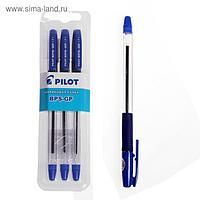 Ручка шариковая PILOT узел 0,7 мм, синяя, блистер B-BPS-GP-F-L