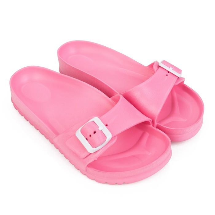 Слайдеры женские, цвет розовый, размер 40