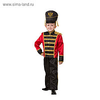 Карнавальный костюм «Гусар», куртка, брюки, головной убор, р. 38, рост 152 см