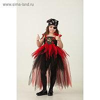 Карнавальный костюм «Пиратка», сделай сам, корсет, ленты, брошки, аксессуары