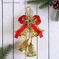 """Украшение новогоднее """"Колокольчик"""" сеточка, 11х18 см"""
