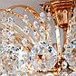 Люстра Ostiniya 9x60Вт E14 белый, золото, фото 5