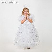 Карнавальный костюм «Ангел», сделай сам, корсет, ленты, брошки, аксессуары