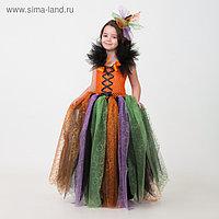 Карнавальный костюм «Ведьмочка», сделай сам, корсет, ленты, брошки, аксессуары