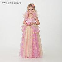 Карнавальный костюм «Принцесса», сделай сам, корсет, ленты, брошки, аксессуары