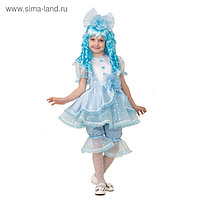 Карнавальный костюм «Мальвина», текстиль, размер 28, рост 11