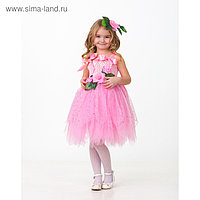 Карнавальный костюм «Дюймовочка», сделай сам, корсет, ленты, брошки, аксессуары