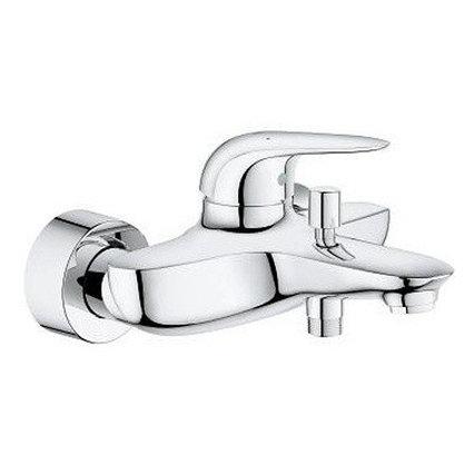 Смеситель для ванны с изливом GROHE EuroStyle, настенный монтаж, хром 23726003
