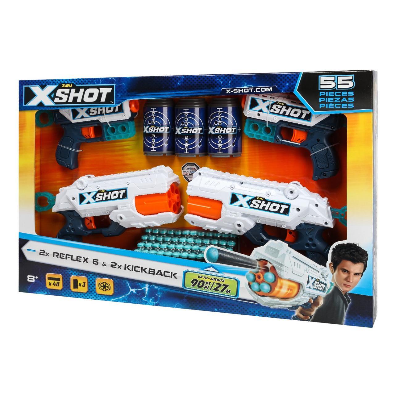 Набор для стрельбы X-SHOT Combo 36234