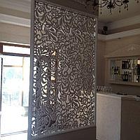 Декоративные ажурные решетки / перегородки на заказ