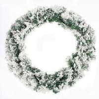 Хвойная гирлянда 'Снег' d-31 см, 270 см, 200 веток