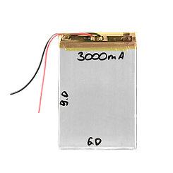 Аккумулятор универсальный  (6cm 9cm 3.5cm) 3000mAh 3.7V GU Electronic