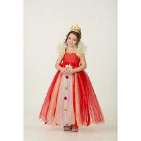 Карнавальный костюм 'Королева', сделай сам, корсет, ленты, брошки, аксессуары